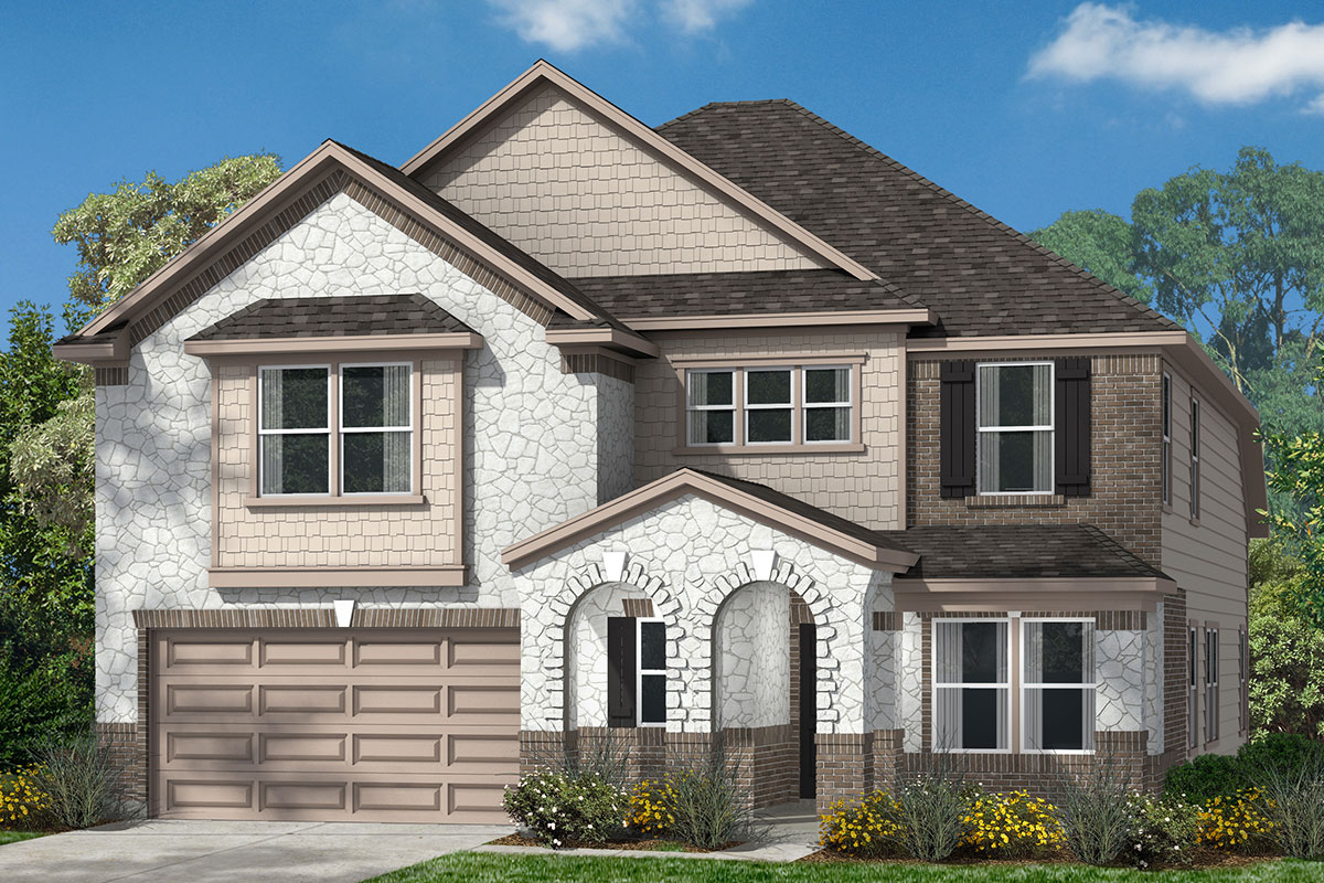 New Homes in Conroe, TX - Elevation L