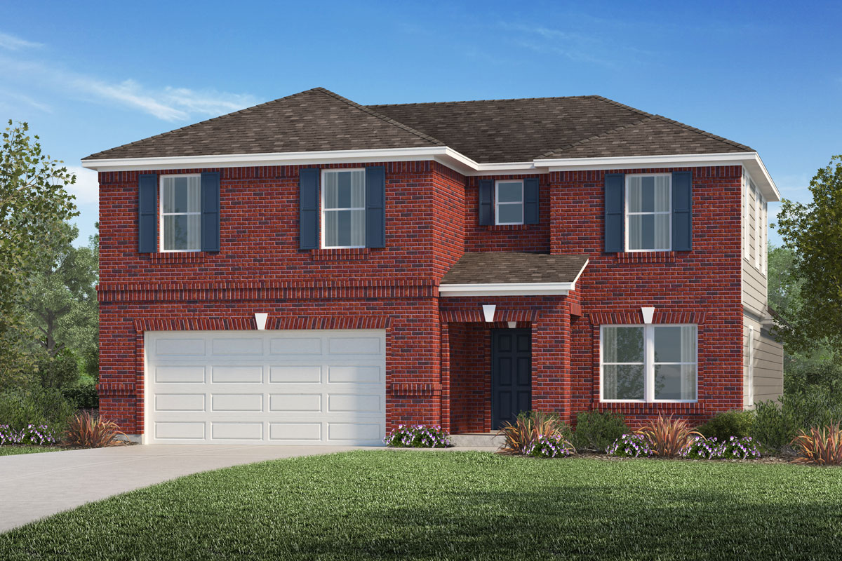 New Homes in La Marque, TX - Plan 2715