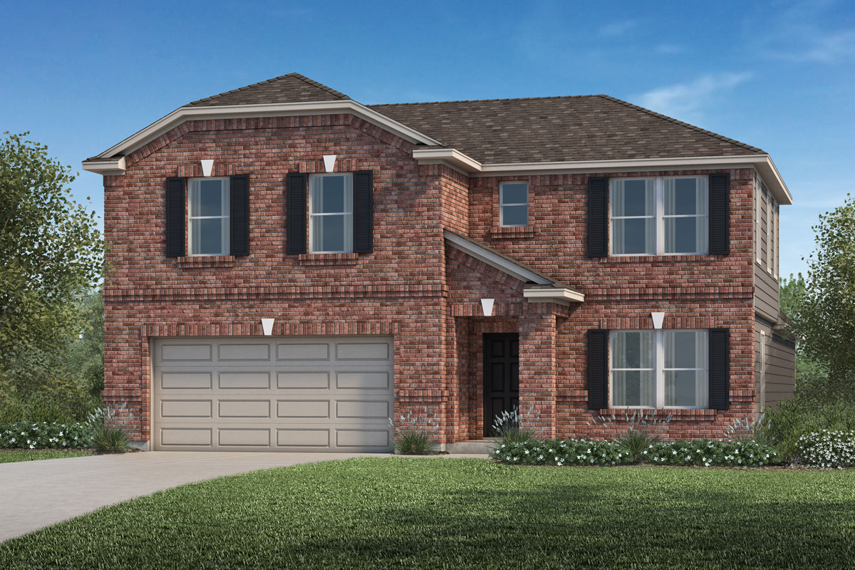 New Homes in Katy, TX - Katy Manor Preserve Plan 2715