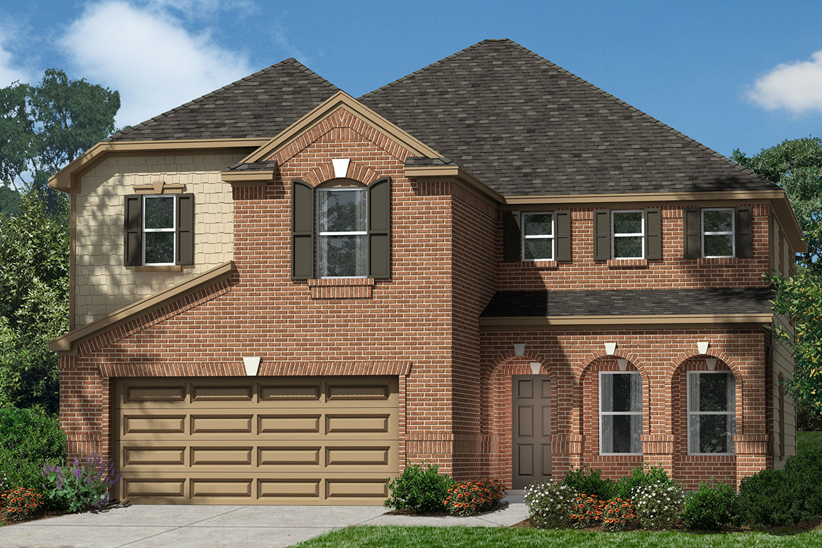 New Homes in Kingwood, TX - Elevation F