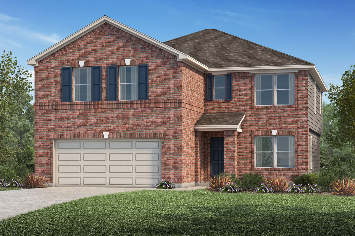 New Homes in La Marque, TX - Sunset Grove Plan 2936-A