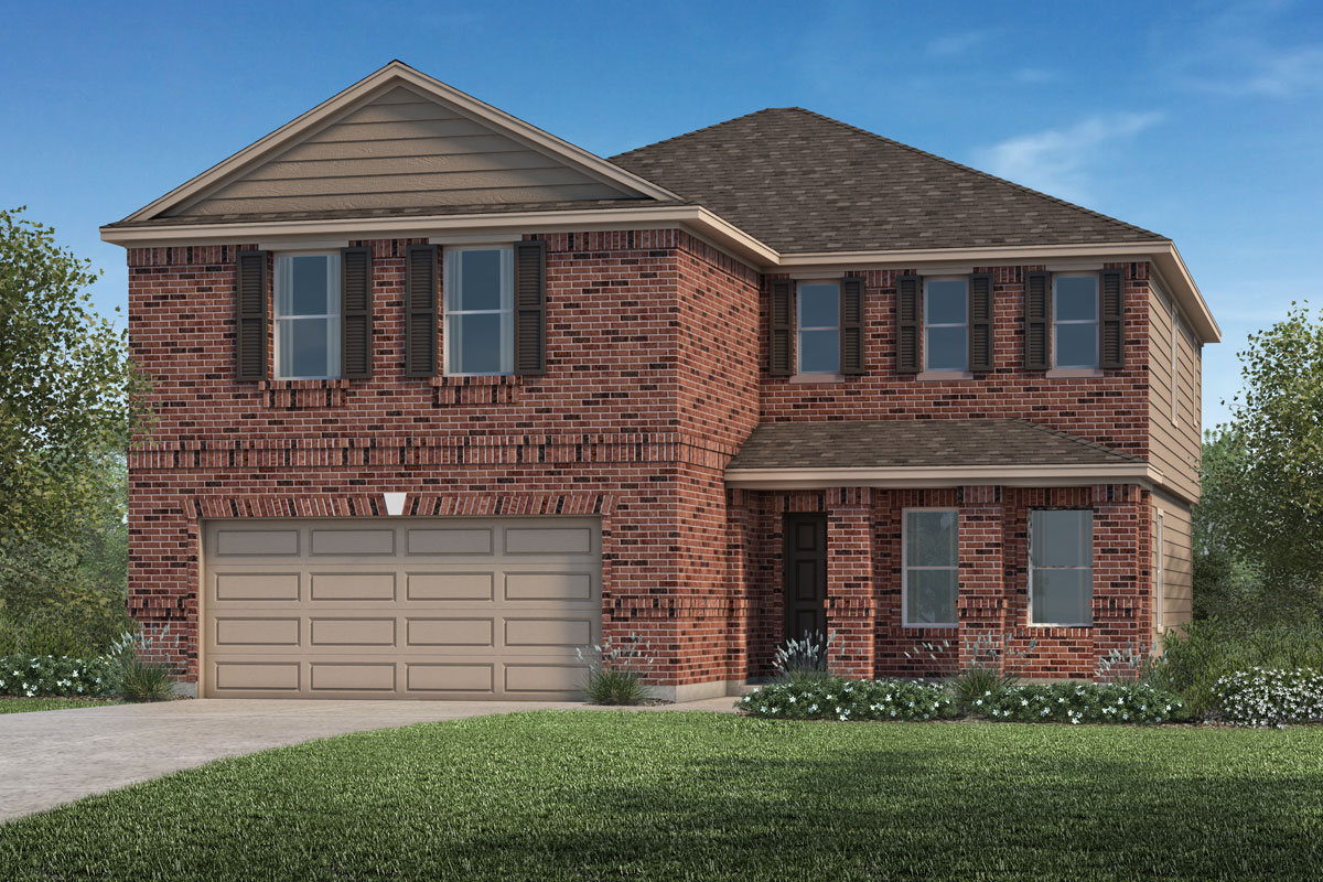 New Homes in La Marque, TX - Elevation B