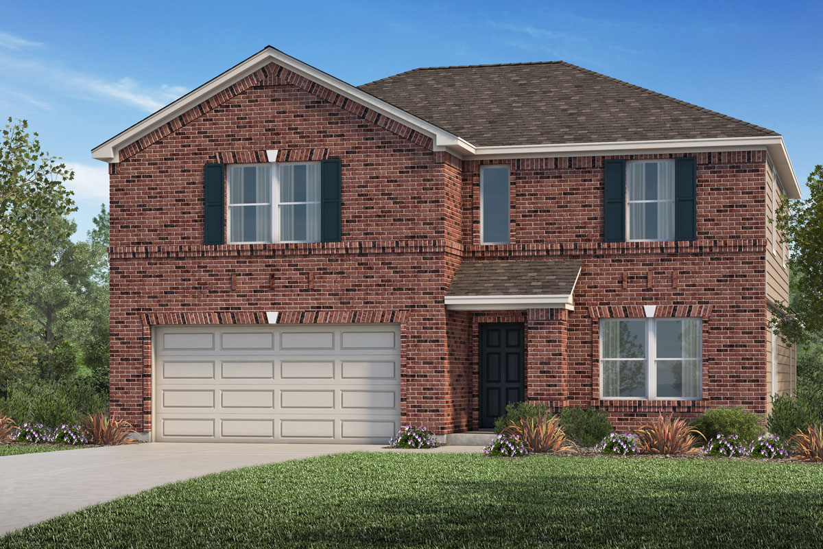 New Homes in La Marque, TX - Sunset Grove Plan 3028-A