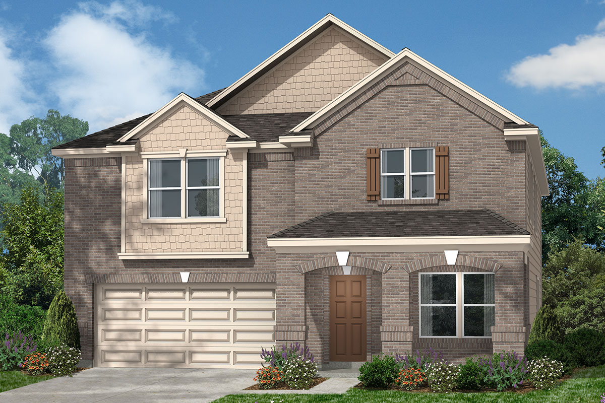 New Homes in Kingwood, TX - Elevation D