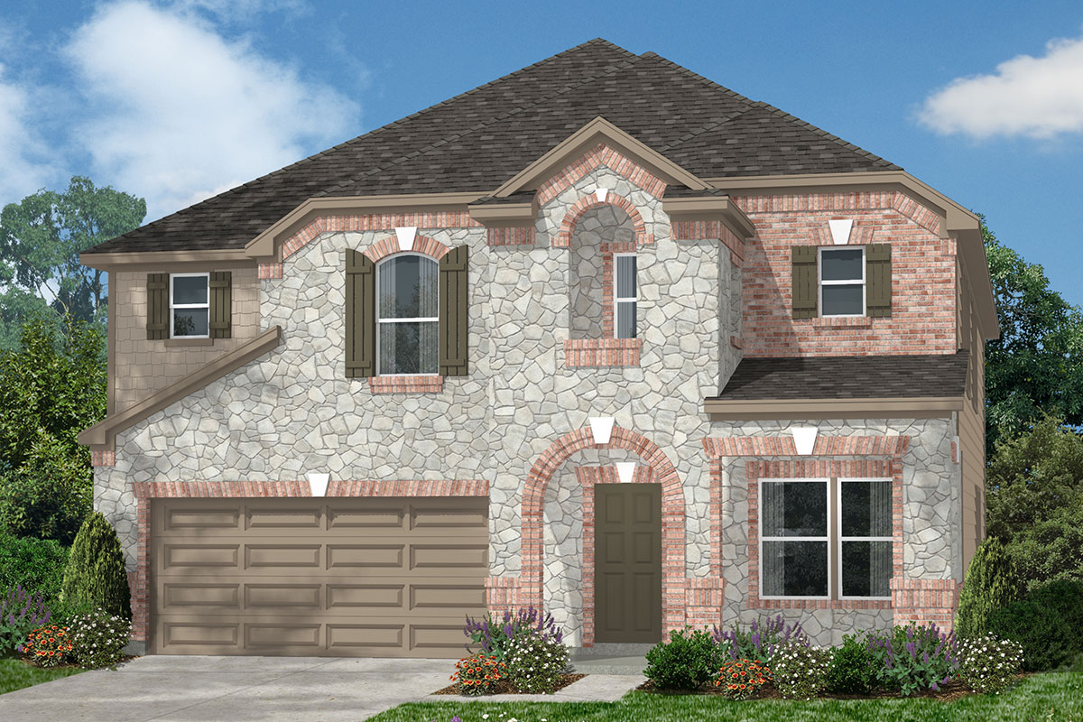 New Homes in Kingwood, TX - Elevation L