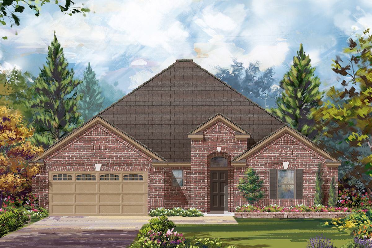 New Homes in Houston, TX - Plan 2031