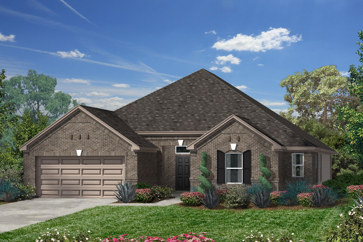 New Homes in Houston, TX - Plan 2325
