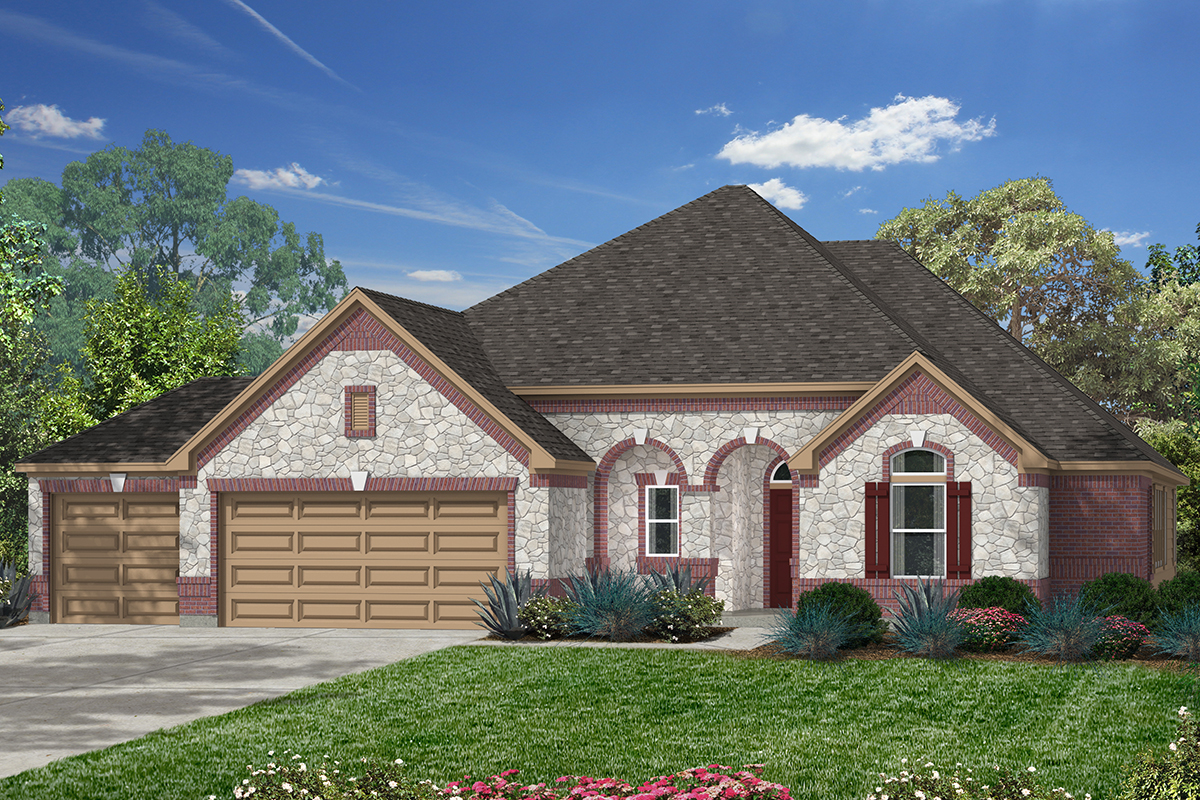 New Homes in Houston, TX - Plan 2625