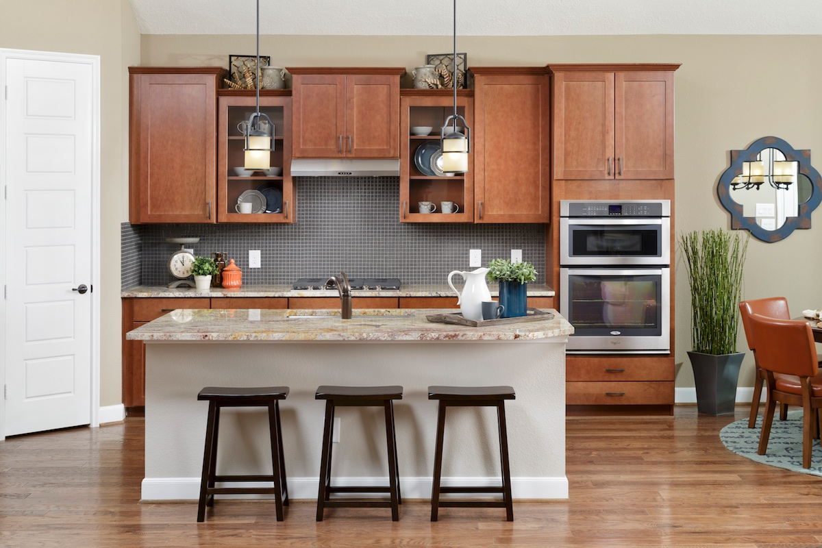 New Homes in Houston, TX - Lakewood Pines Estates Plan 2866 Kitchen
