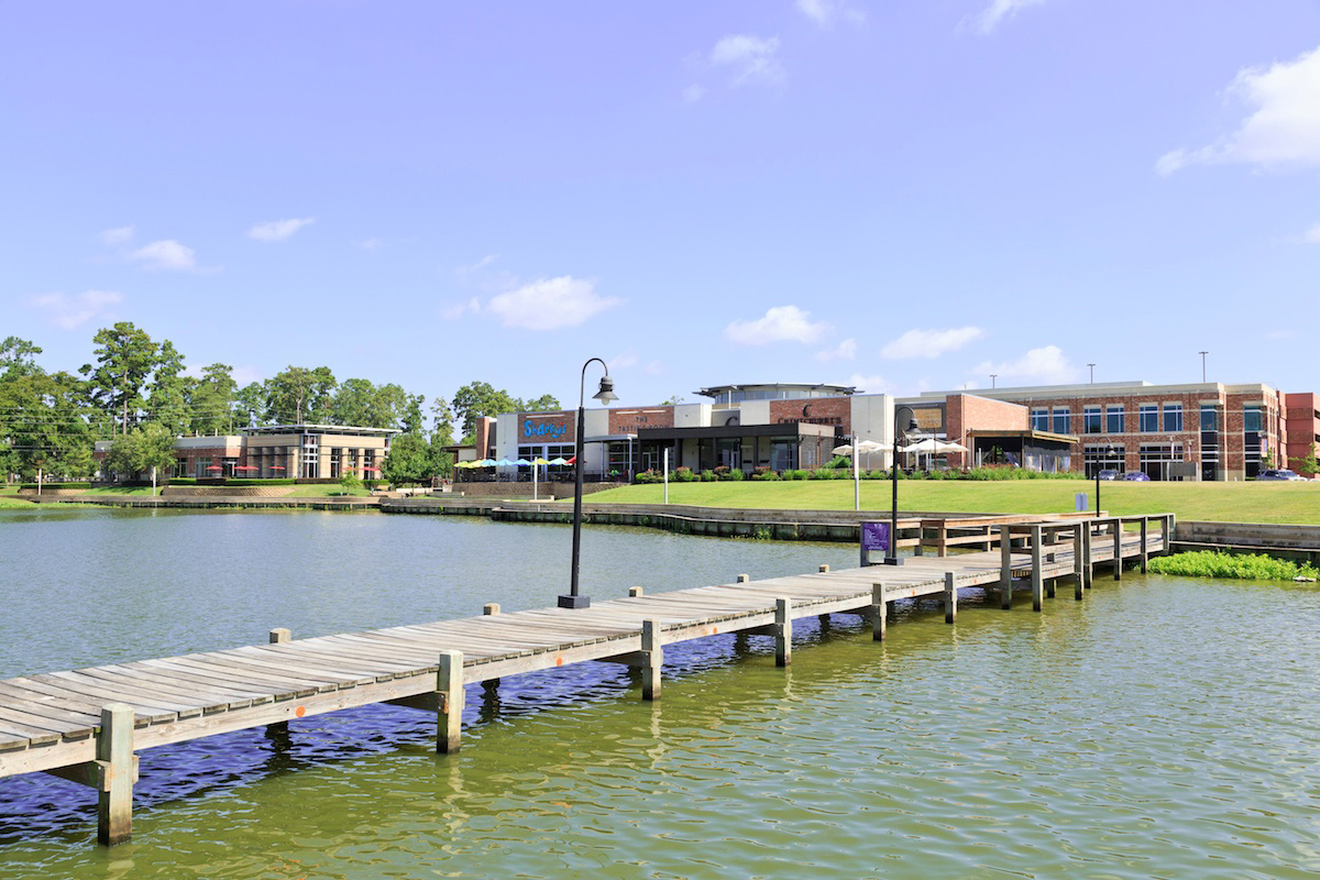 New Homes in Houston, TX - Lakewood Pines Estates - Lakefront King Harbor Waterfront Village