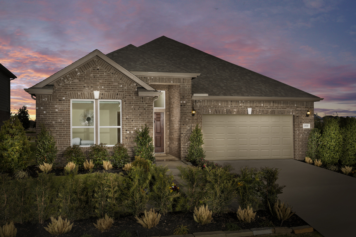 New Homes in Katy, TX - Anserra Preserve Plan 2130