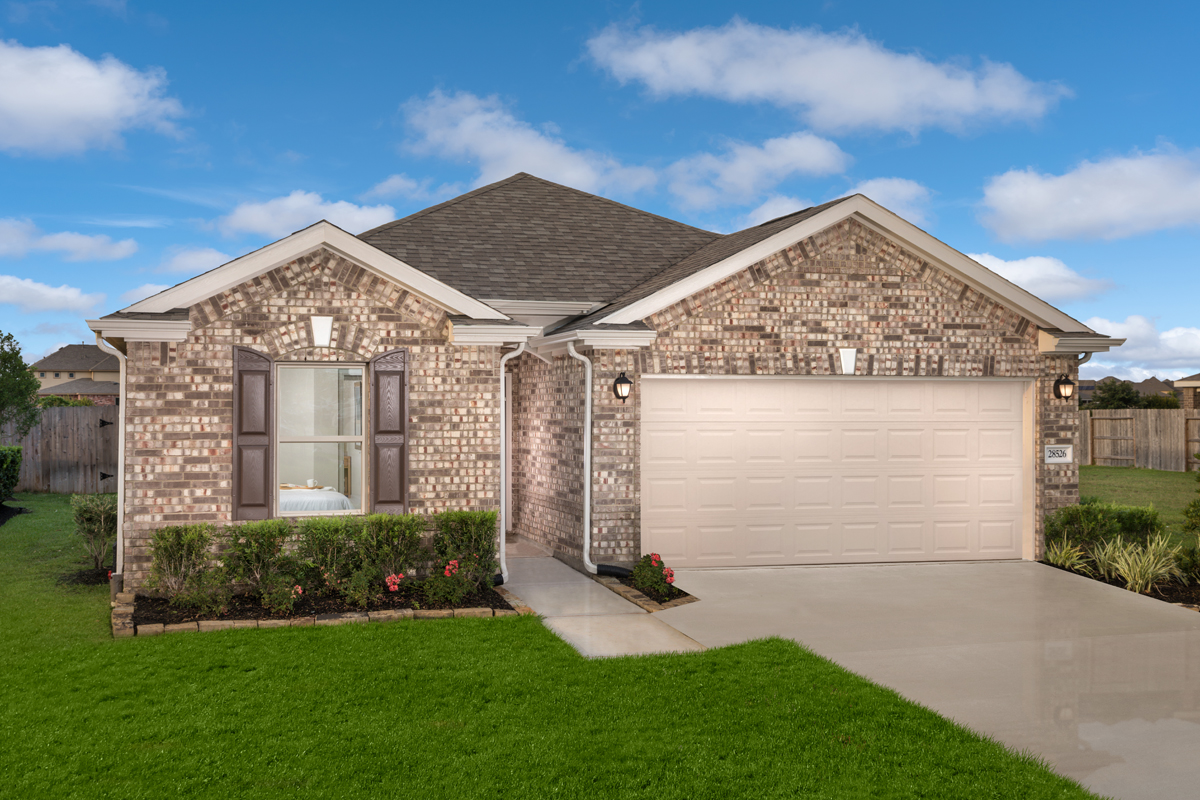 New Homes in Katy, TX - Plan 1889 Modeled