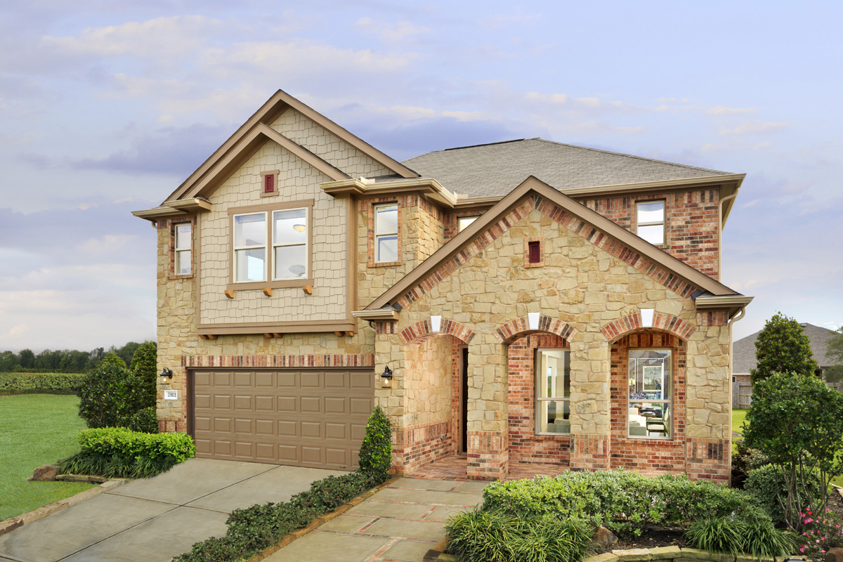 New Homes in Pearland, TX - Plan 3028