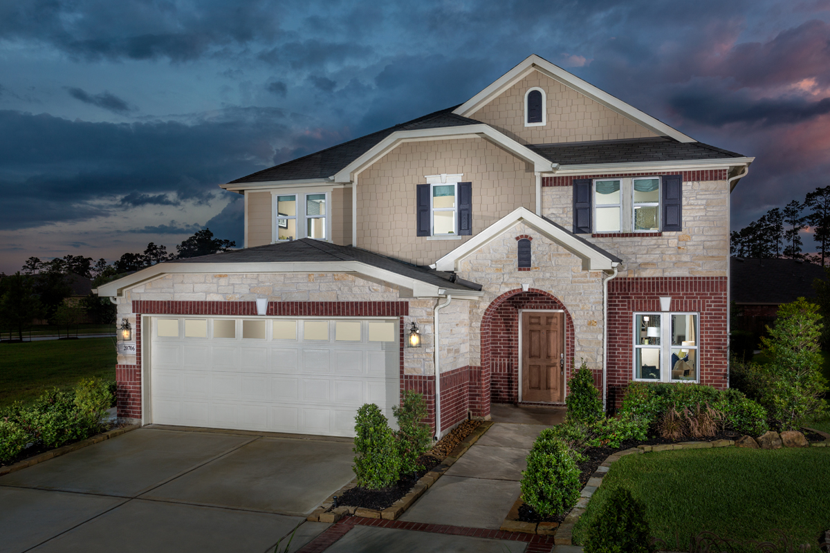 New Homes in Porter, TX - Brookwood Forest Springs Plan 2961