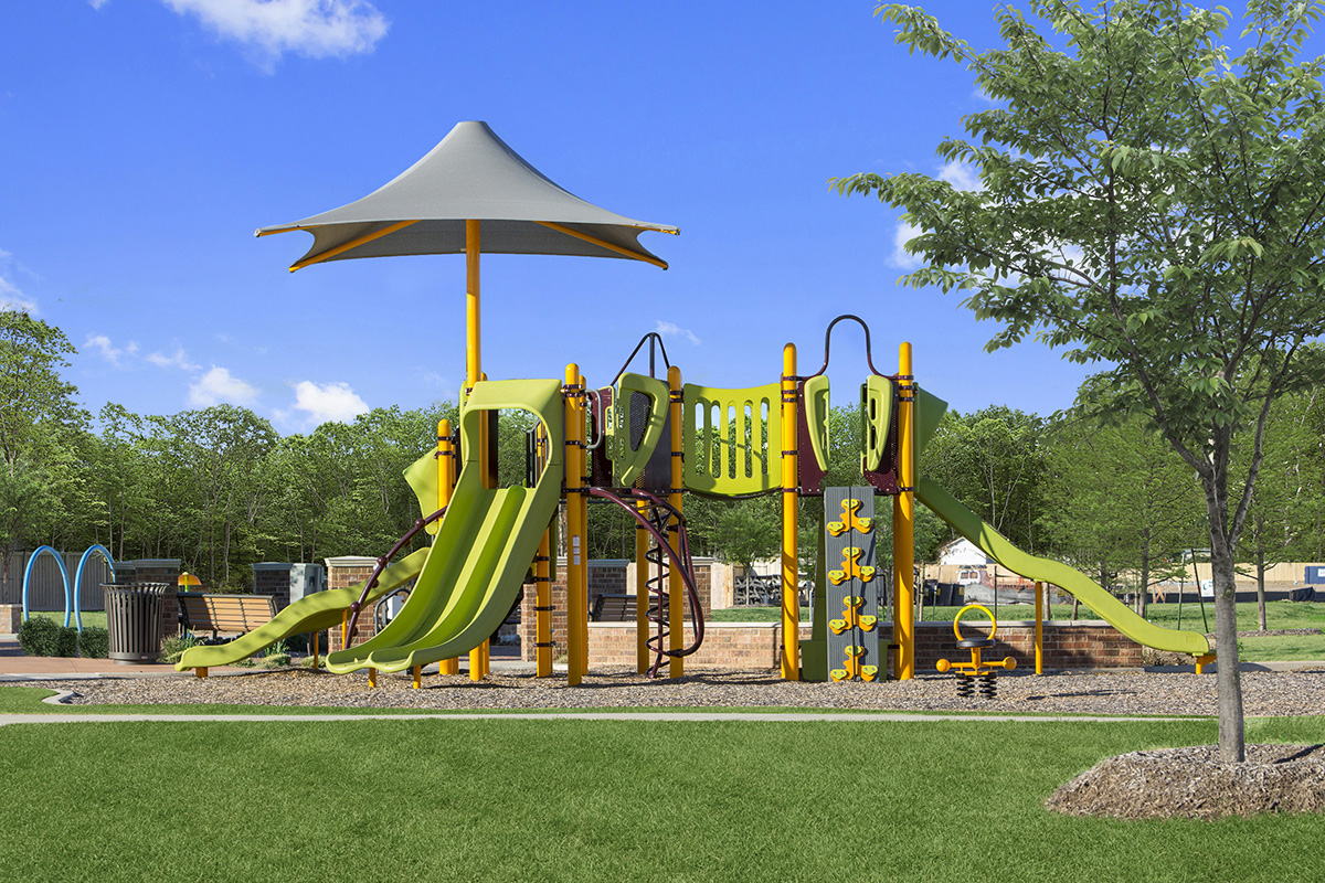 New Homes in Porter, TX - Brookwood Forest Springs Community Playground