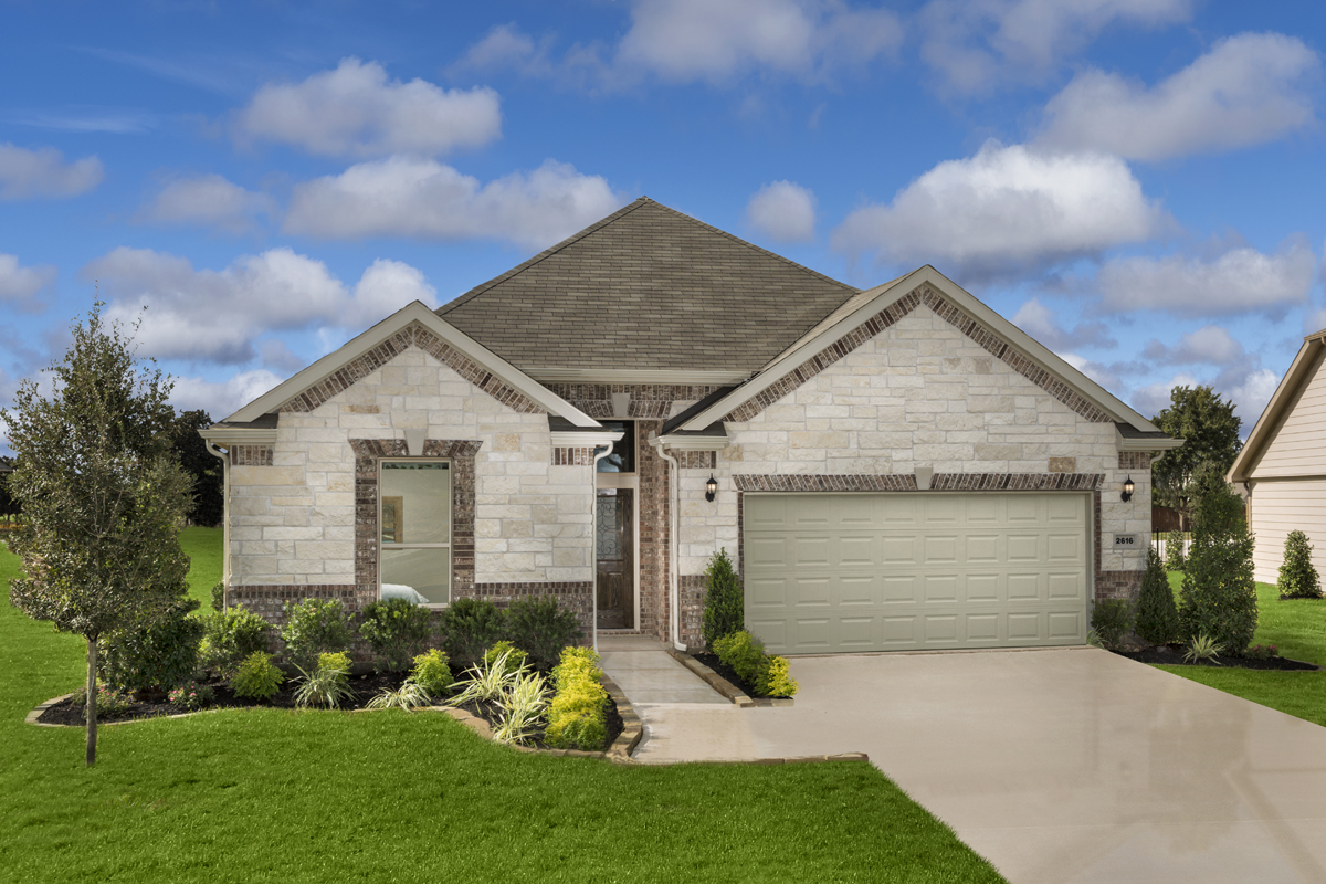 New Homes in Rosenberg, TX - Bryan Crossing Plan 2130