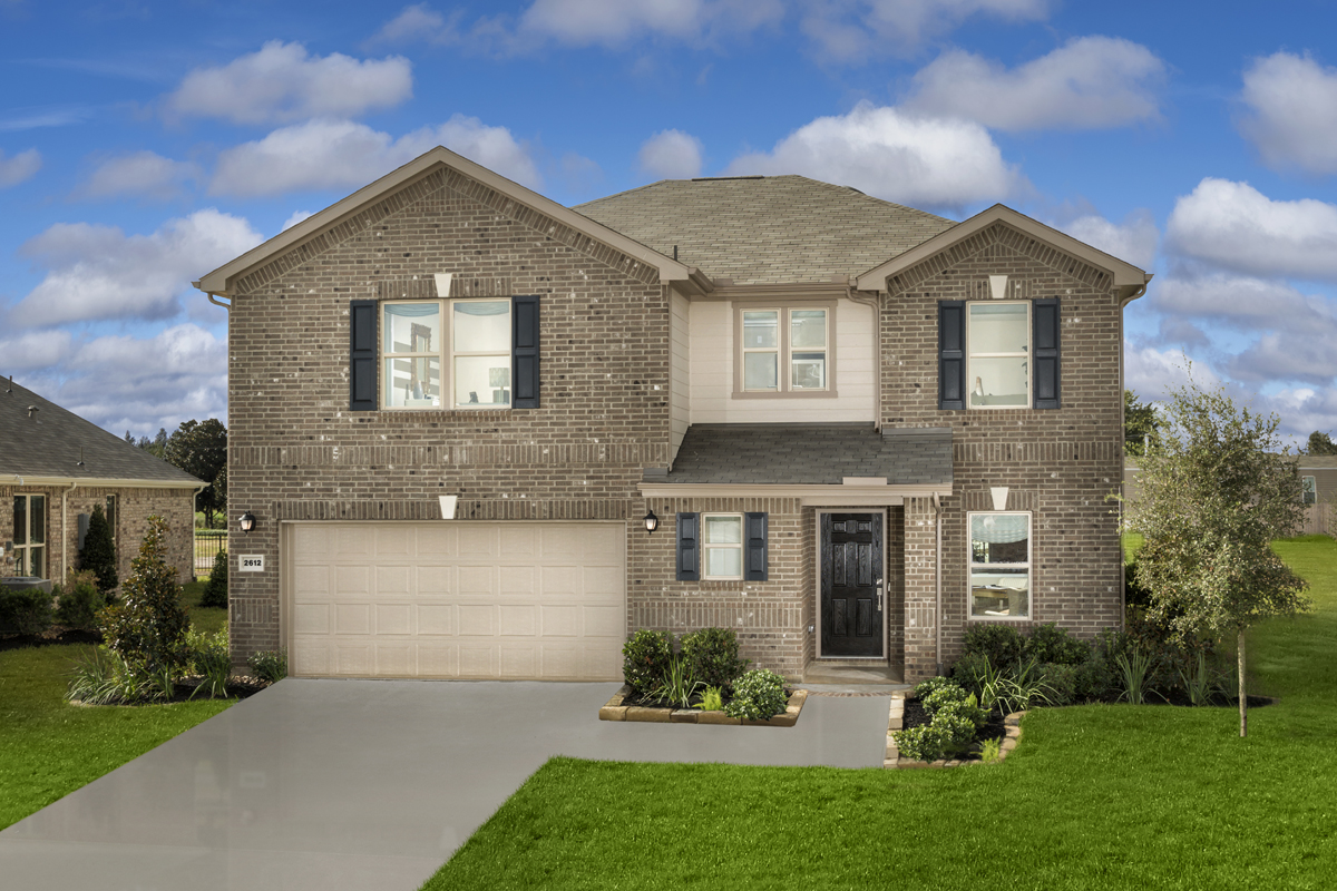 New Homes in Rosenberg, TX - Plan 2590 Modeled