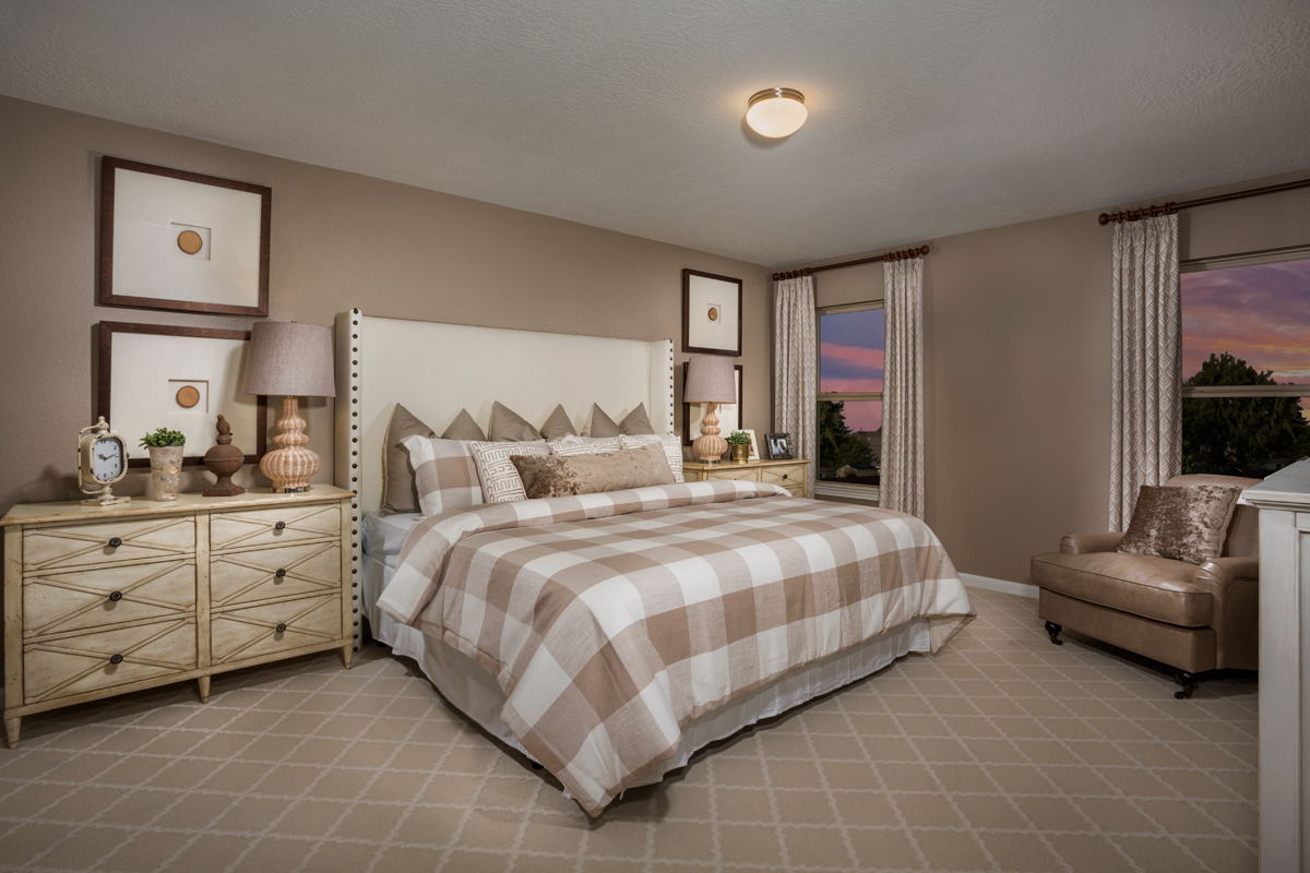 New Homes in Rosenberg, TX - Bryan Crossing Plan 2590 Owner's Suite