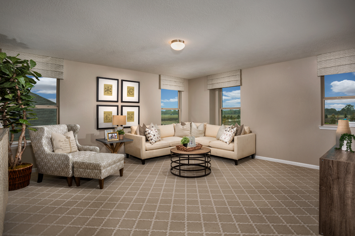 New Homes in Rosenberg, TX - Bryan Crossing Plan 2590 Loft