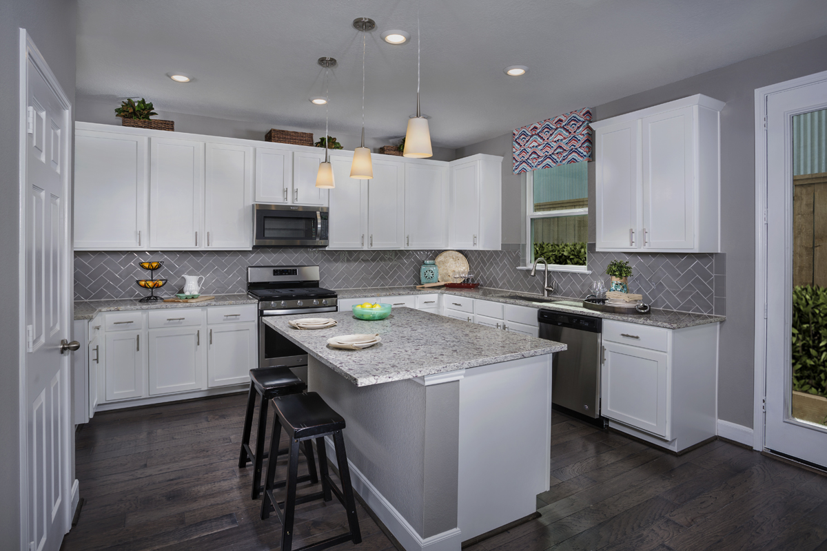 New Homes in Houston, TX - Cedar Brook Plan 2211 Kitchen