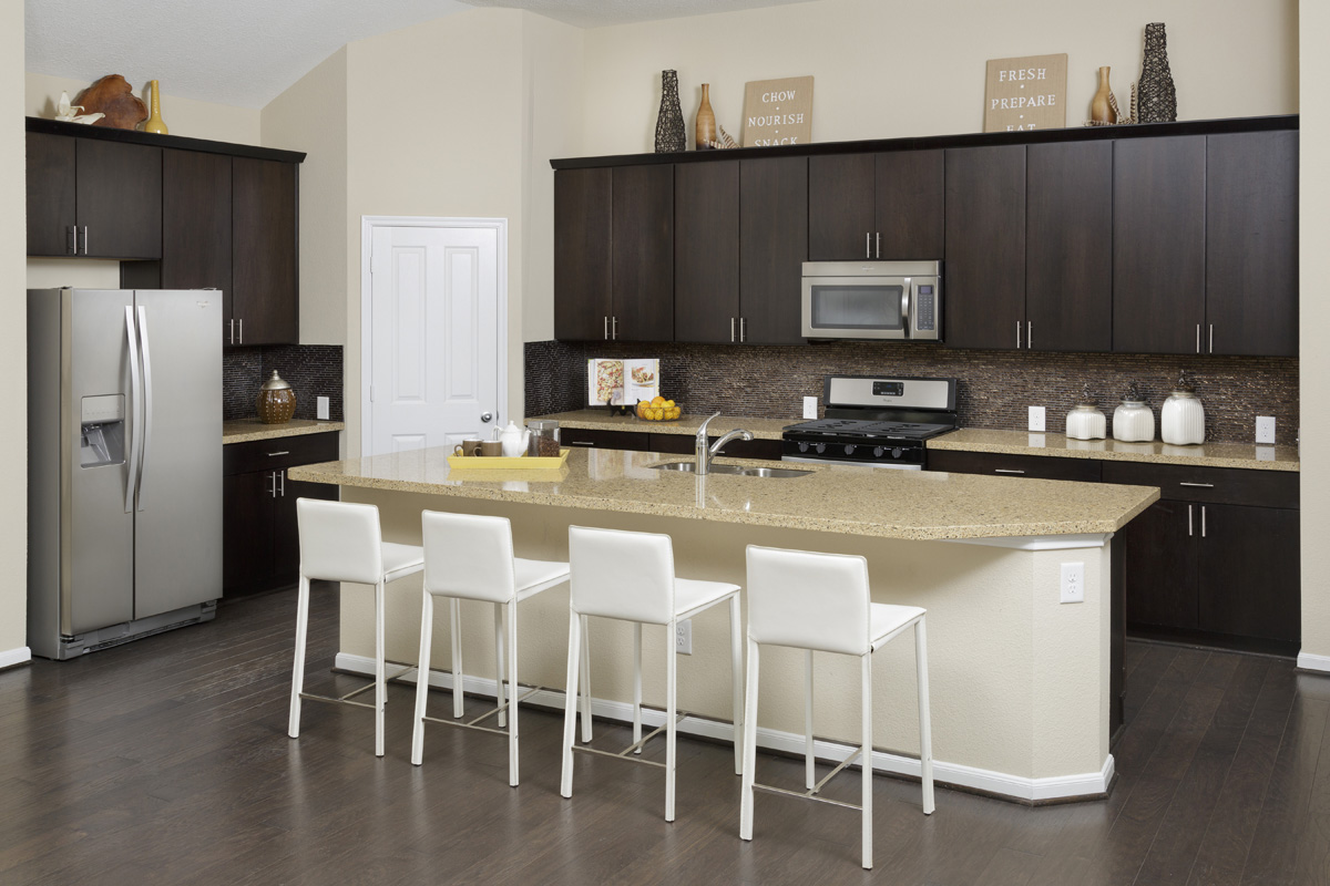 New Homes in Magnolia, TX - Cimarron Creek Preserve Plan 2398 Kitchen