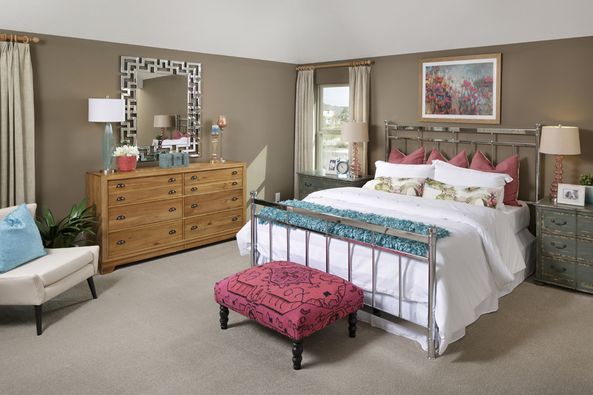 New Homes in Magnolia, TX - Cimarron Creek Preserve Plan 2478 Master Bedroom