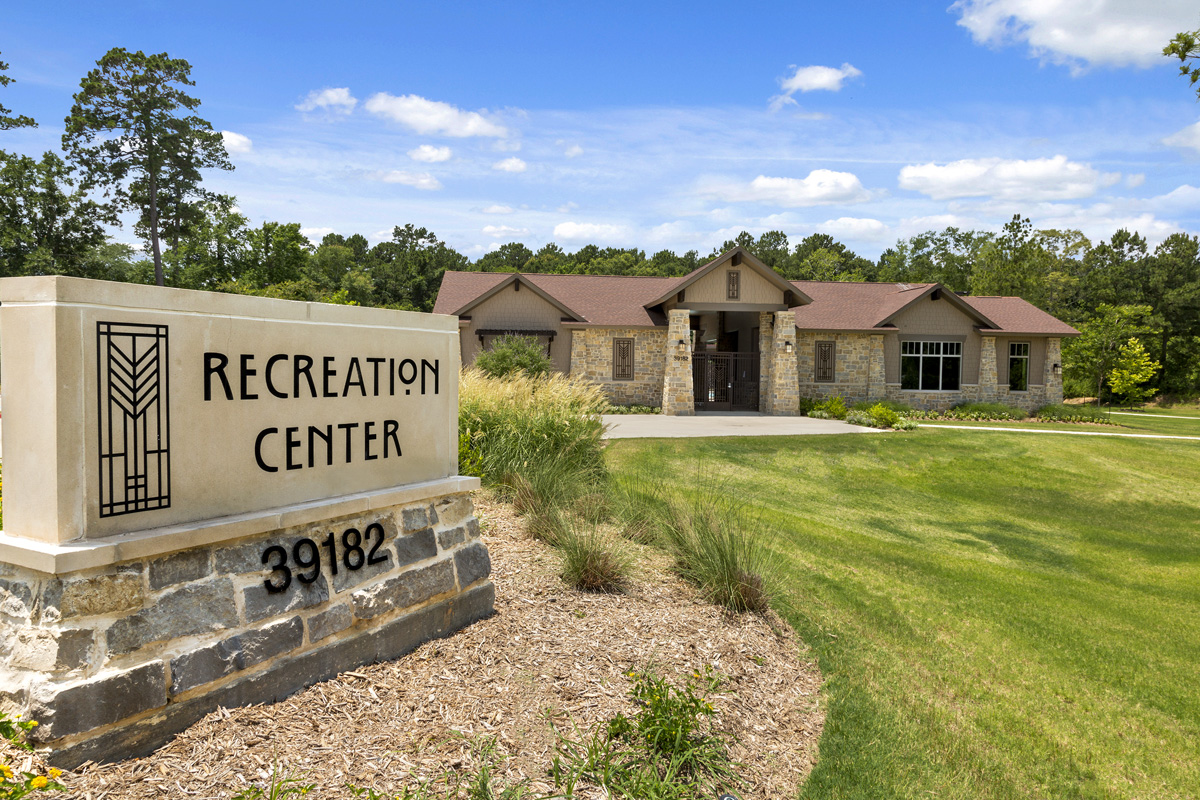 New Homes in Magnolia, TX - Cimarron Creek Preserve Recreation Center
