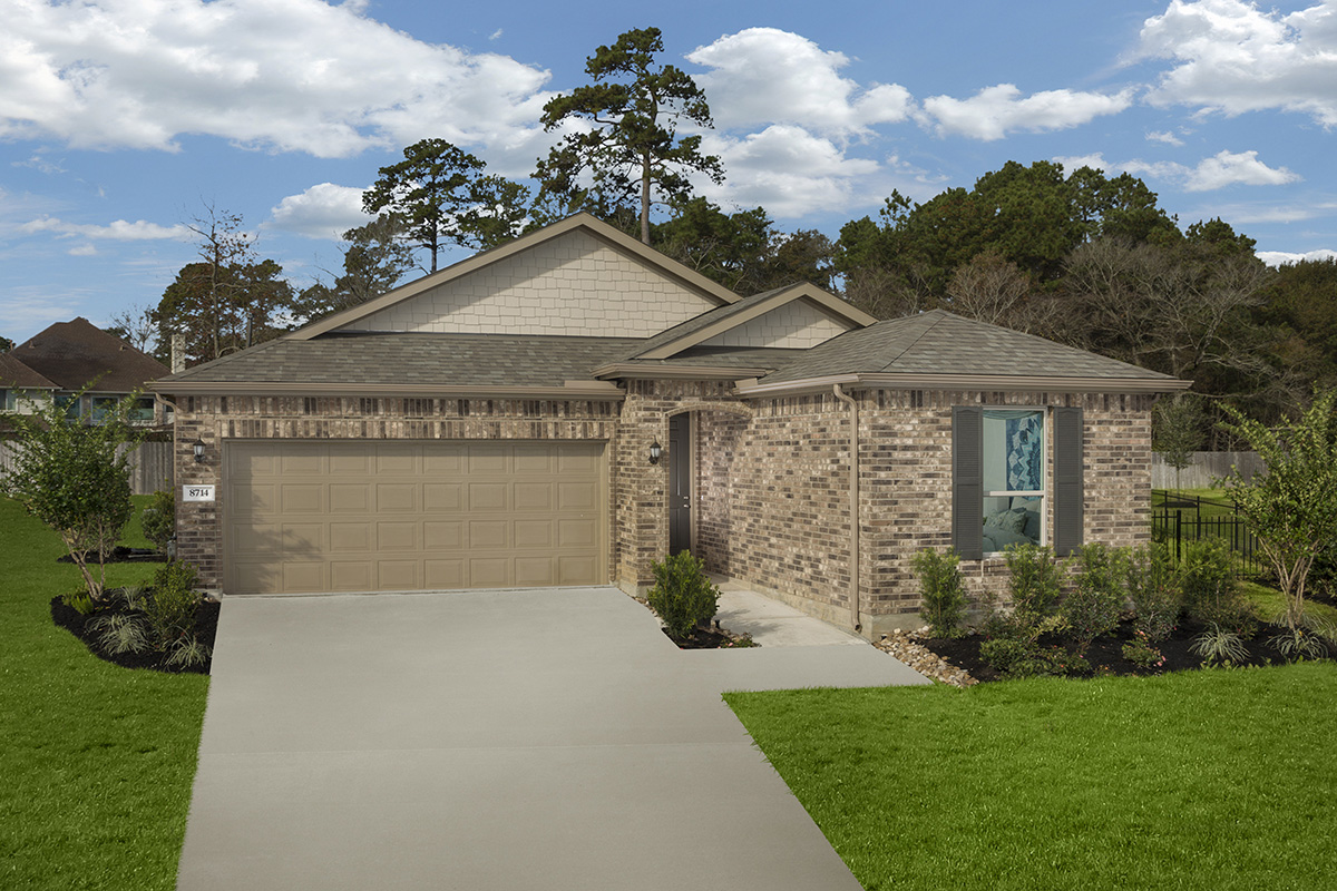New Homes in Magnolia, TX - Plan 1631 Modeled