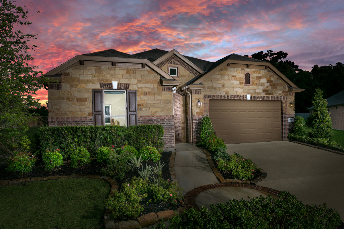 New Homes in Magnolia, TX - Plan 2398 Modeled