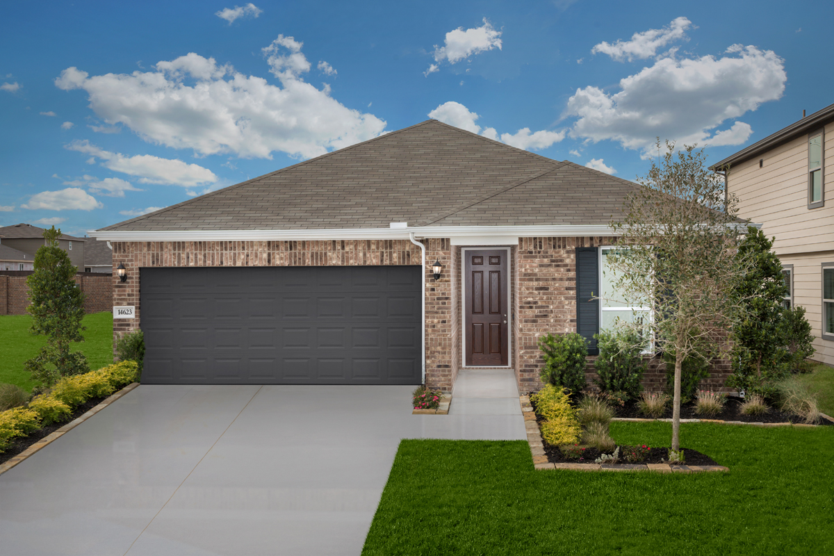 New Homes in Houston, TX - Cypress Creek Landing Plan 1889