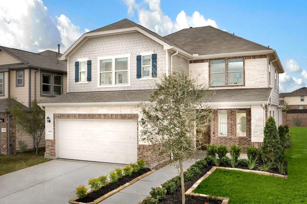 New Homes in Texas City, TX - Vida Costera Plan 2596 as modeled at Cypress Creek Landing