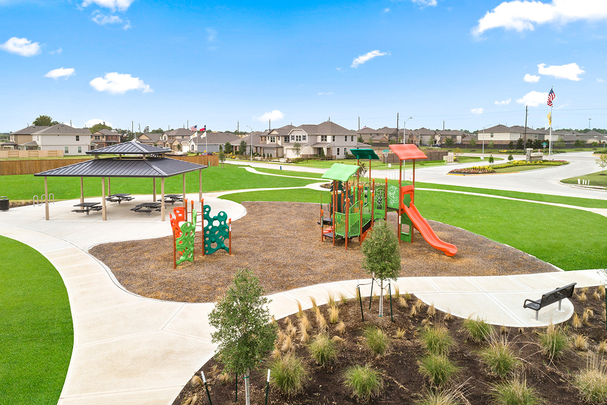 New Homes in Houston, TX - Cypress Creek Landing Community Playground