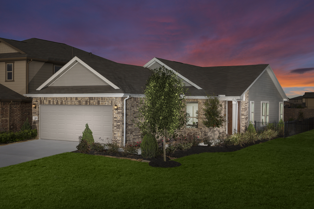 New Homes in Houston, TX - Plan 1585 Modeled