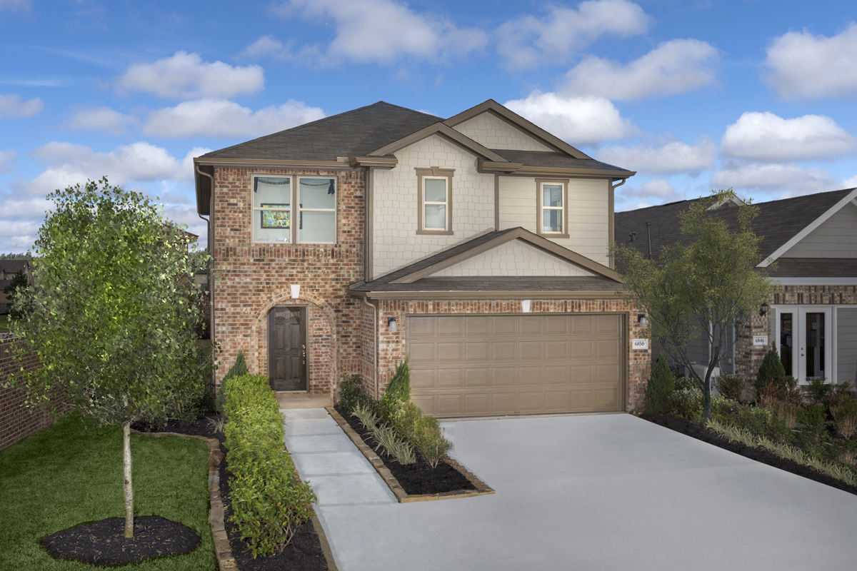 New Homes in Houston, TX - Hillsdale Creek Plan 2124