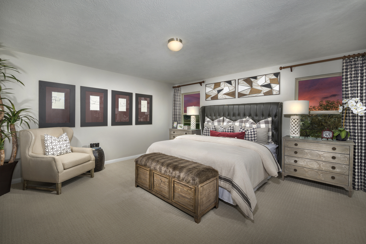 New Homes in Houston, TX - Hillsdale Creek Plan 2124 Master Suite