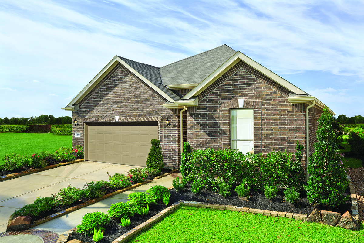New Homes in Katy, TX - Katy Manor Preserve Plan 2130 Modeled