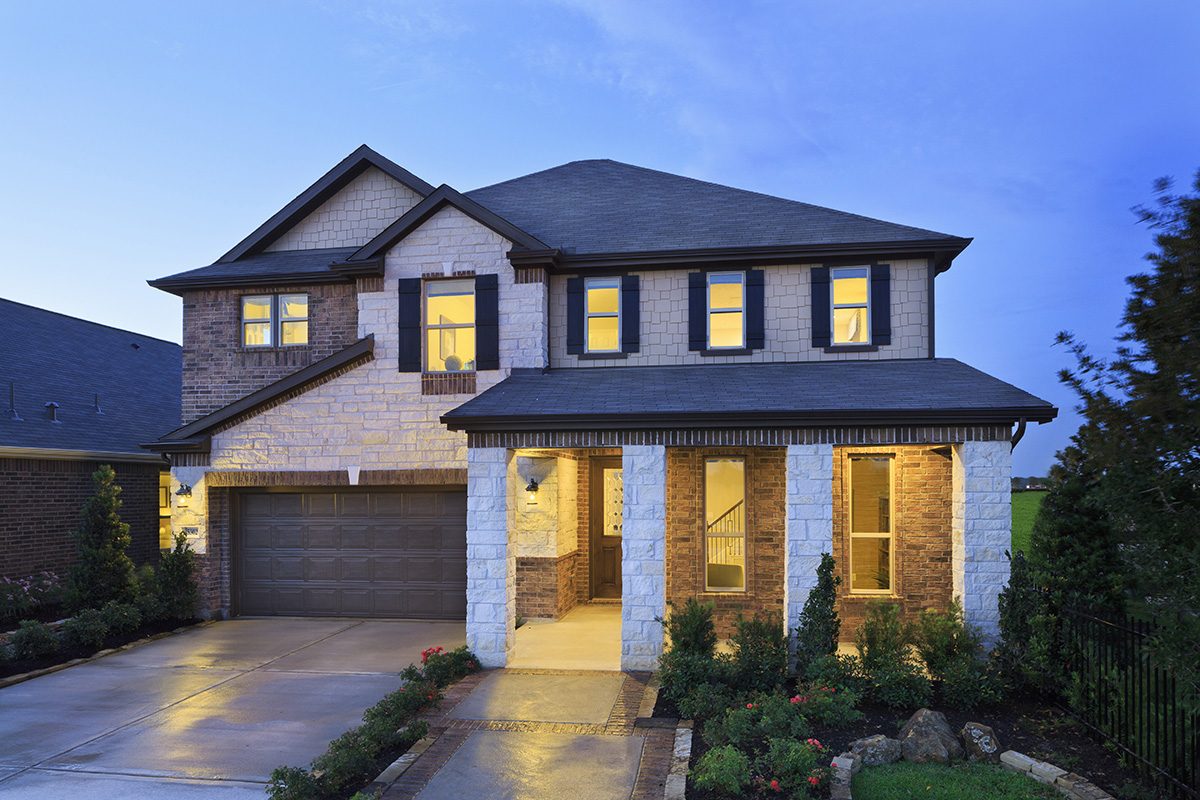 New Homes in Katy, TX - Katy Manor Preserve Plan 2478 Modeled