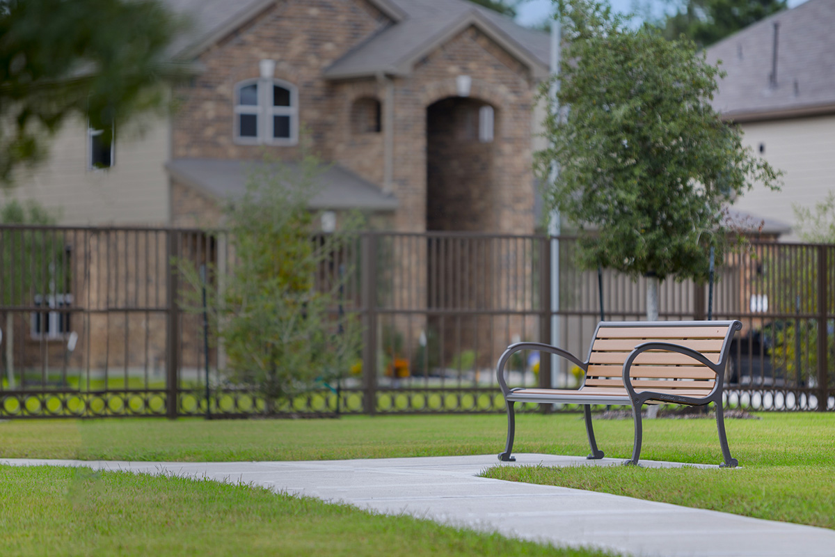 New Homes in Houston, TX - Lakewood Pines Estates Community Walking Paths