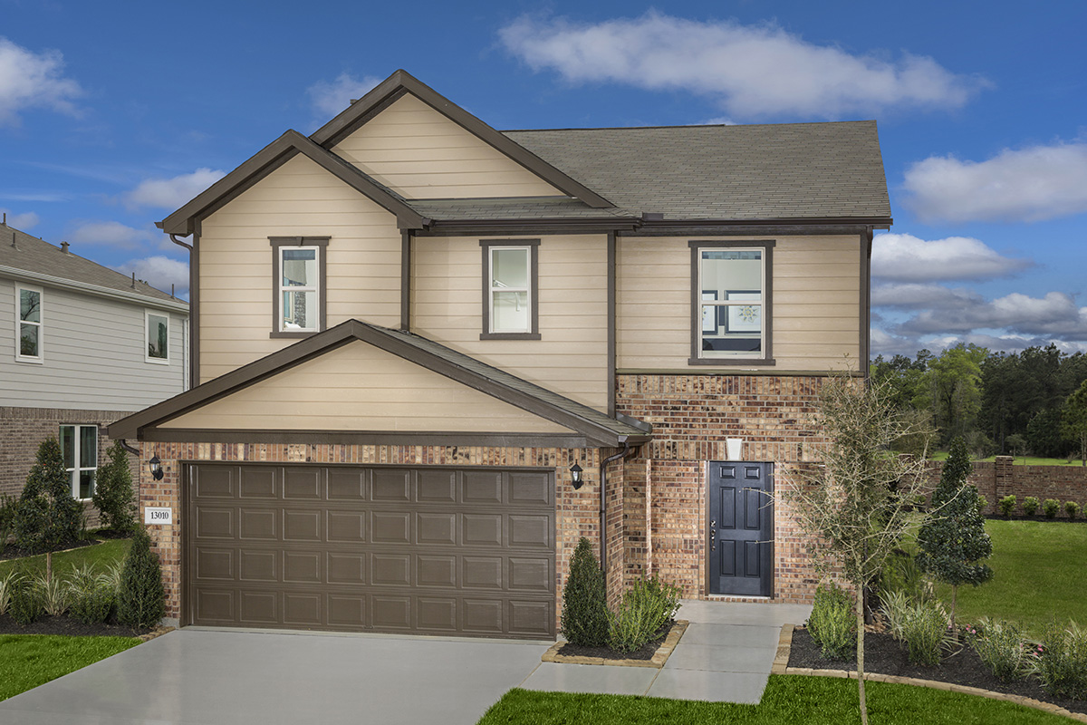 New Homes in Houston, TX - Lakewood Pines Trails Plan 2124