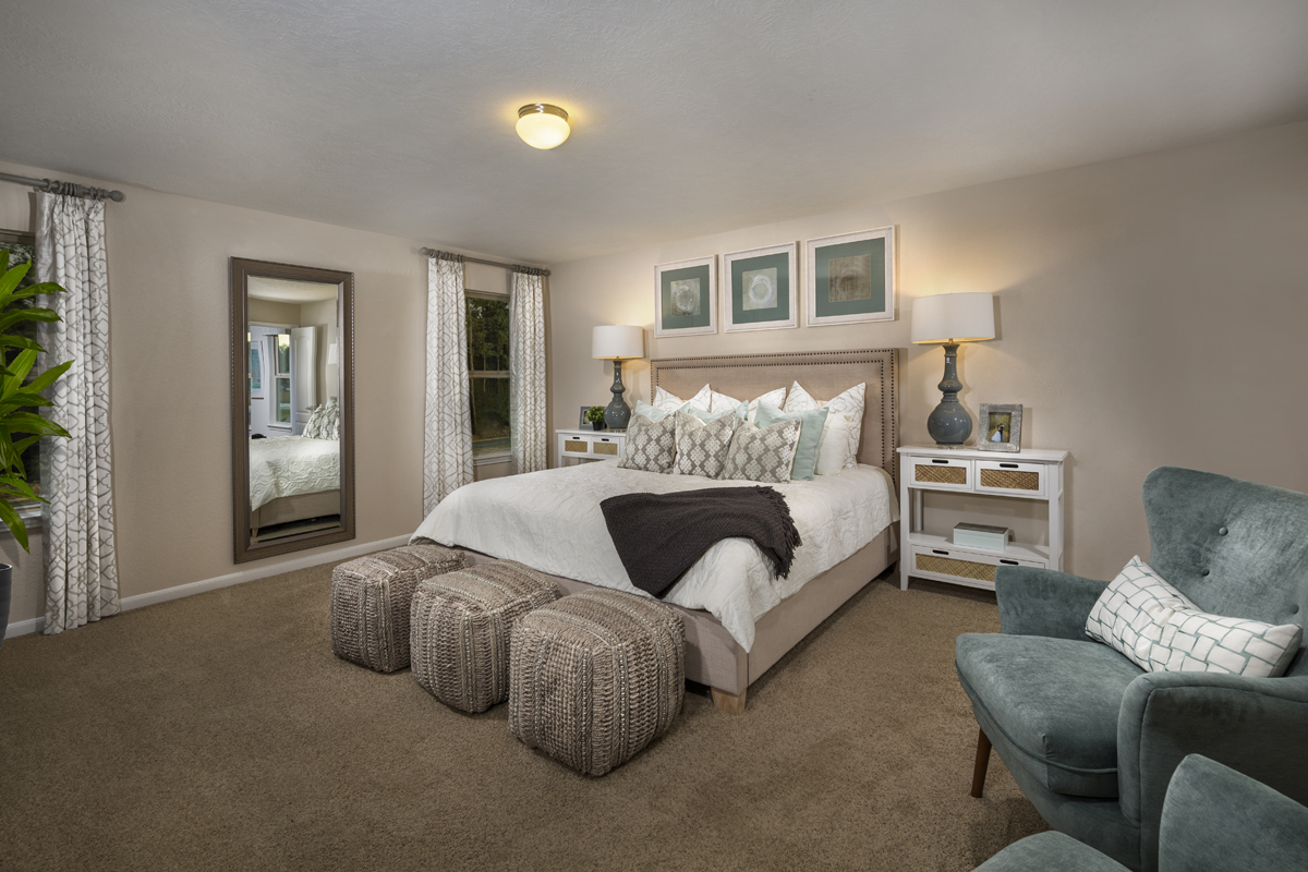New Homes in Houston, TX - Mills Creek Crossing Plan 2646 Master Suite