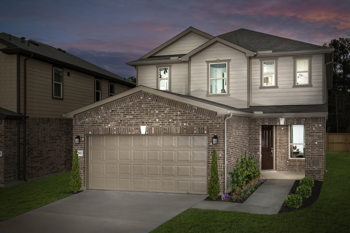 New Homes in Houston, TX - Plan 2910 Modeled