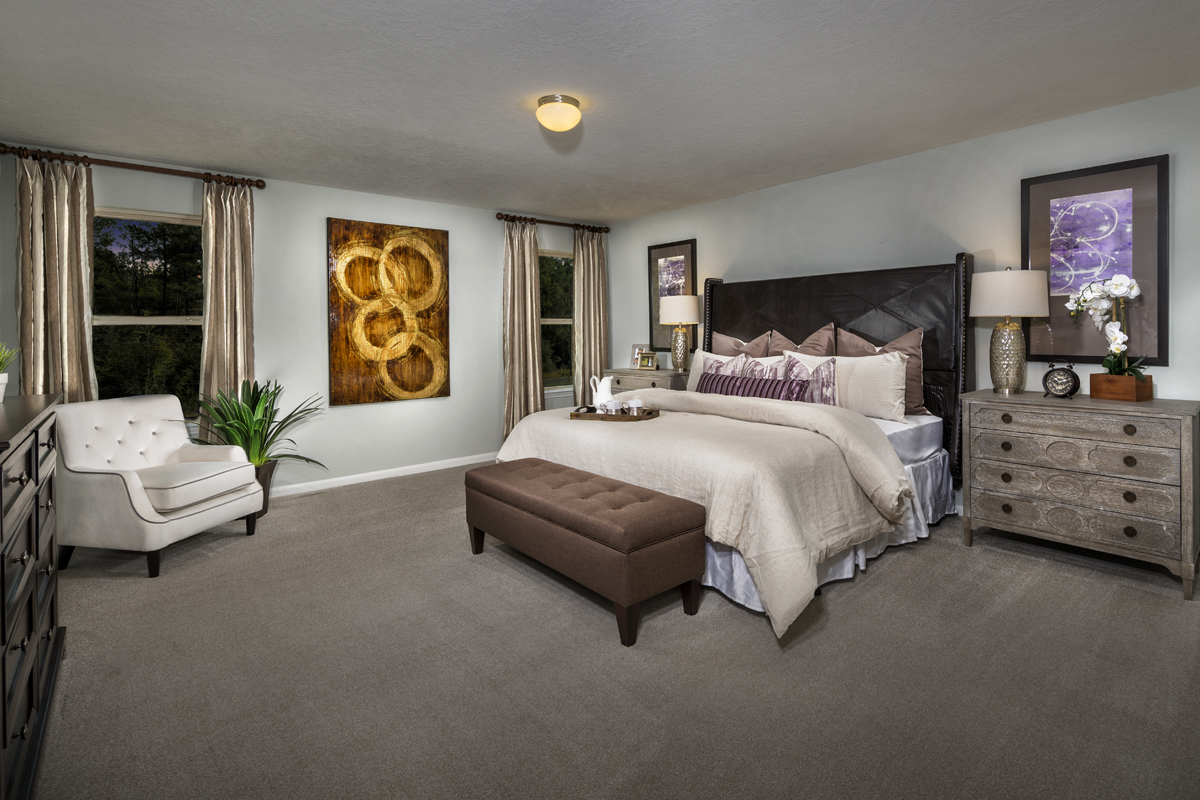 New Homes in Houston, TX - Mills Creek Crossing Plan 2910 Master Suite