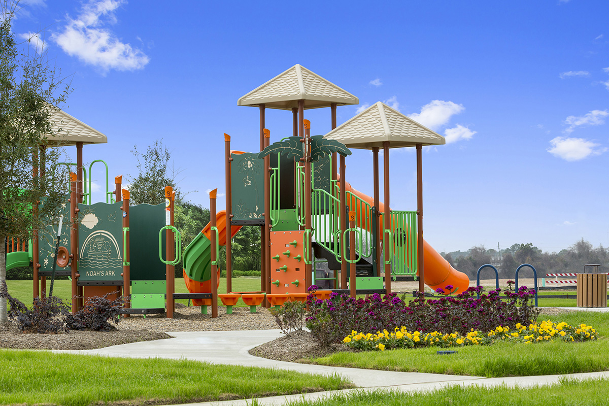 New Homes in Houston, TX - Mills Creek Crossing Community Playground