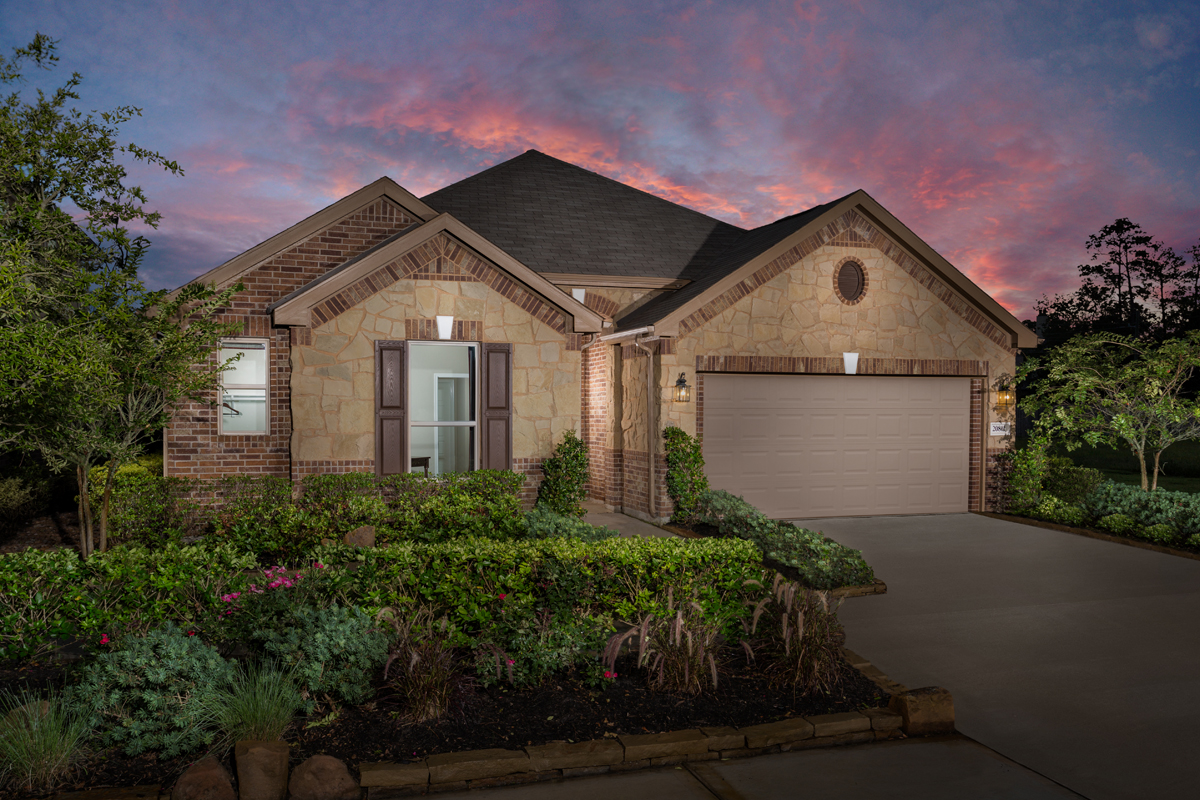 New Homes in Humble, TX - Rivergrove Plan 2314