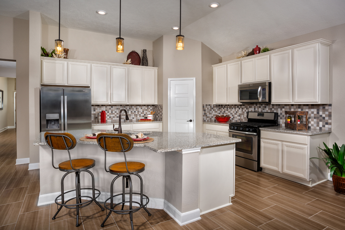 New Homes in Humble, TX - Rivergrove Plan 2314 Kitchen