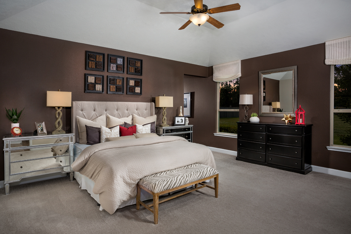 New Homes in Humble, TX - Rivergrove Plan 2314 Master Suite