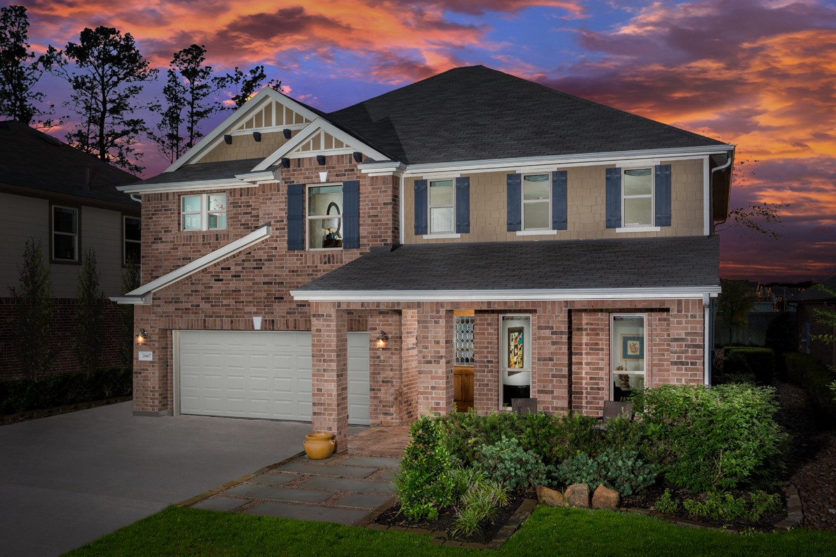 New Homes in Humble, TX - Rivergrove Plan 2478