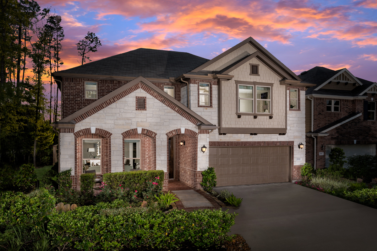 New Homes in Humble, TX - Rivergrove Plan 3028