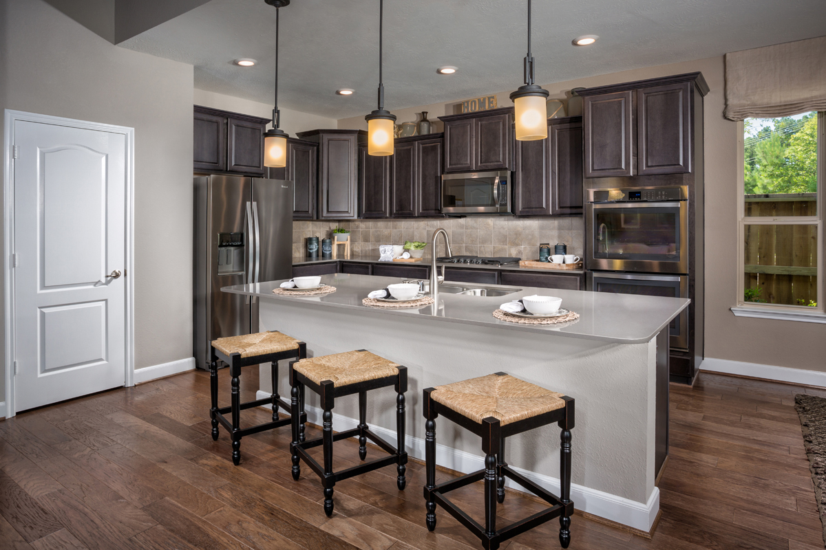 New Homes in Humble, TX - Rivergrove Plan 3028 Kitchen