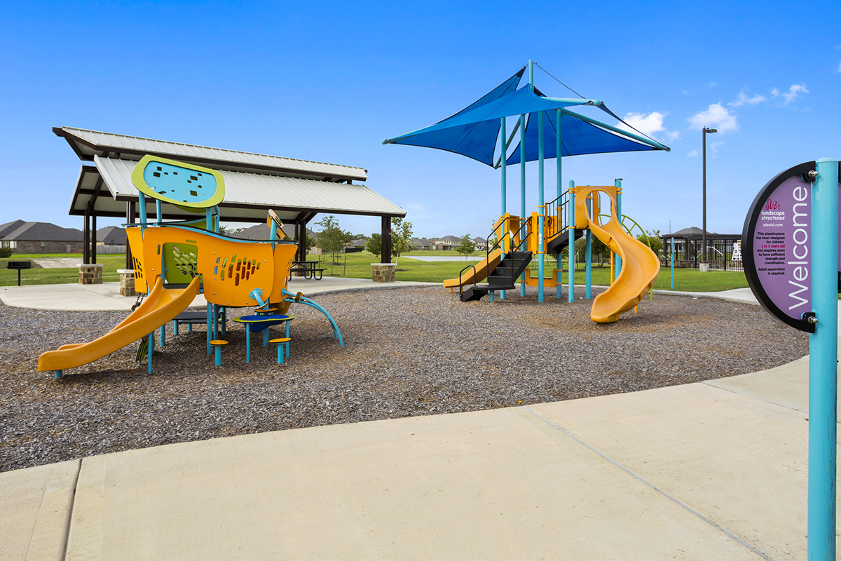 New Homes in Pearland, TX - Shadow Grove Preserve Community Playground